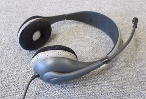 Jabra HSC010 UC Voice 150 USB MS Duo Wired Noise-cancelling Headband Headset